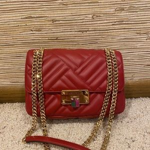 Michael Kors Peyton MD Quilted Lambskin Leather